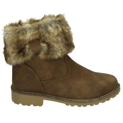 bcf9bd02783 Khaki støvle – Khaki vinterstøvle med pels - ShoeFactory.dk